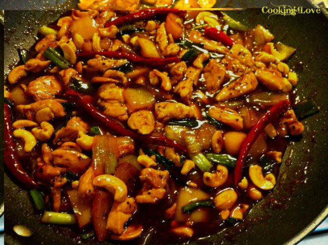 Thai Cashew Chicken (Gai Pad Med Ma-Muang)