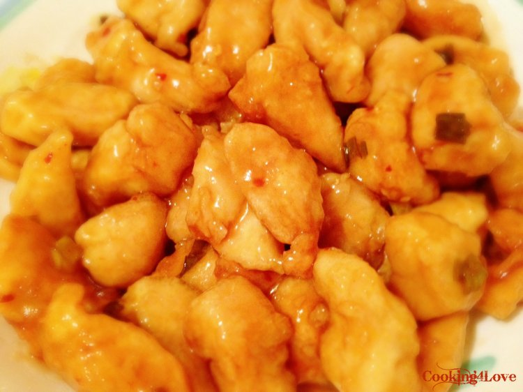 My copycat Panda Express orange chicken
