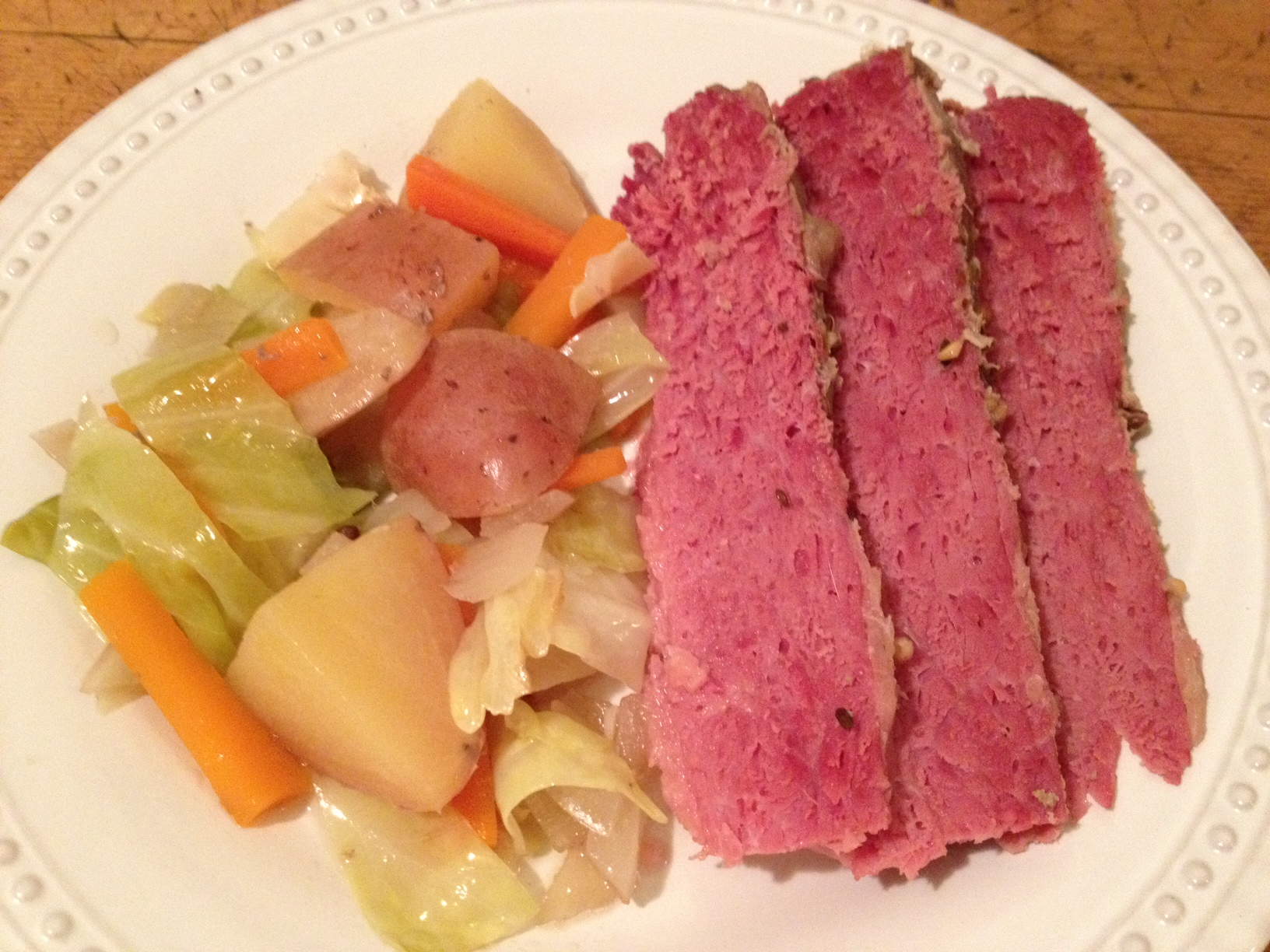 Crock Pot Corned Beef and Cabbage | Cooking For Love