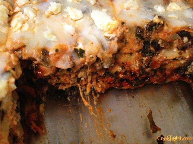 Cut Lasagna