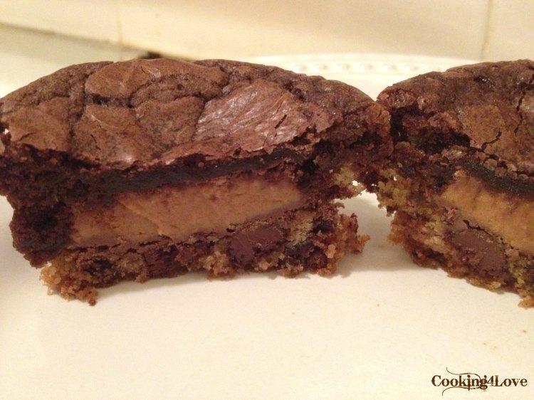 CC Cookie PB Brownie