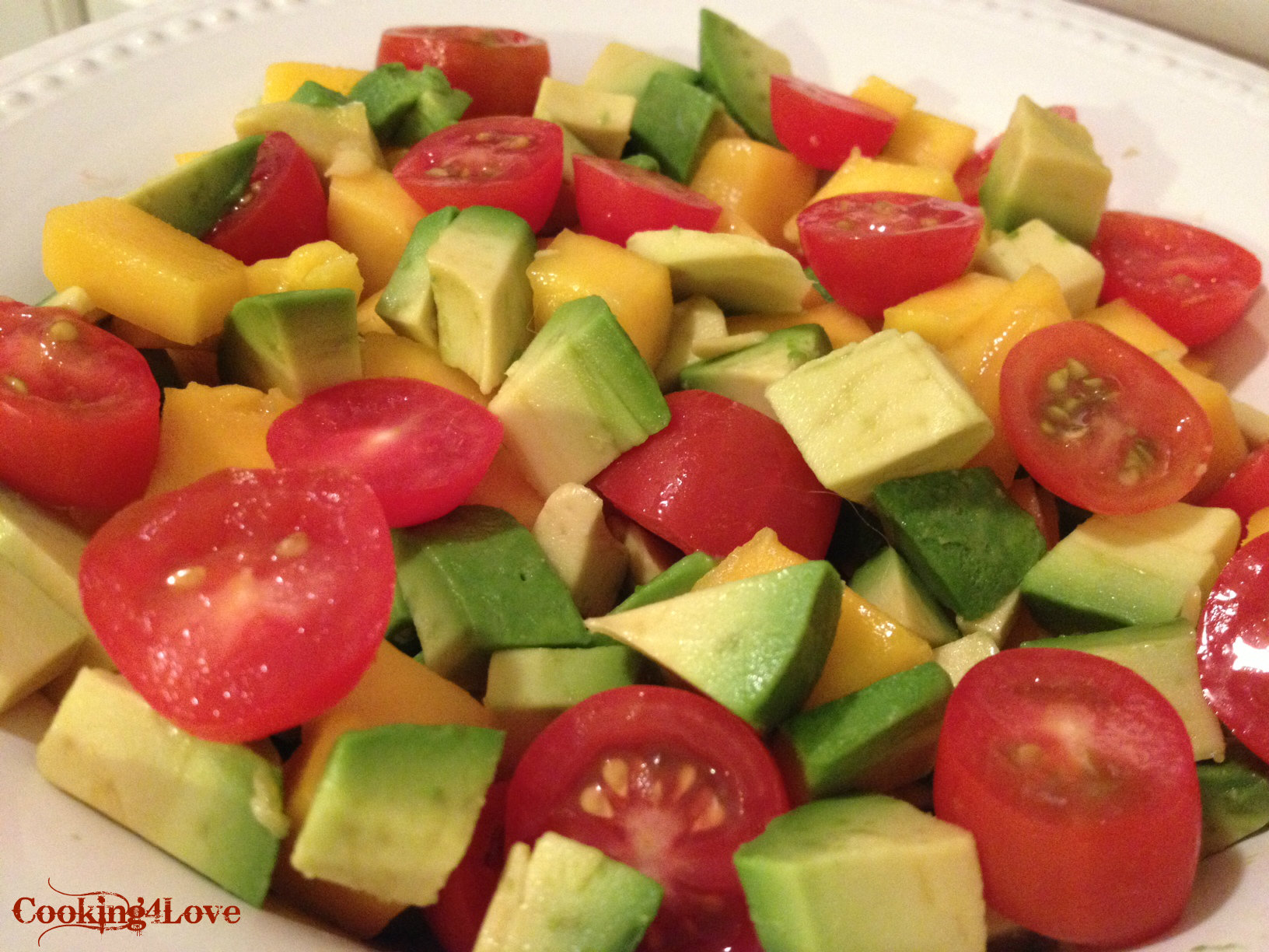 Avocado and Mango Salad | Cooking For Love
