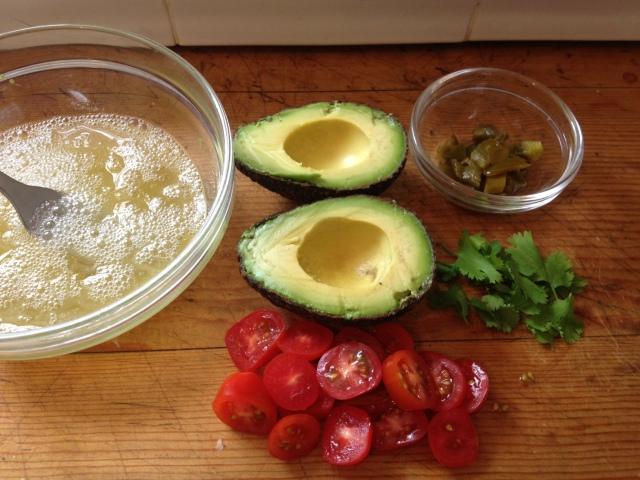Omelet Ingredients