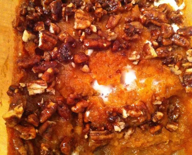 Gourmet Sweet Potato Casserole
