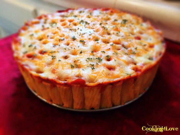 Rigatoni Lasagna PIe
