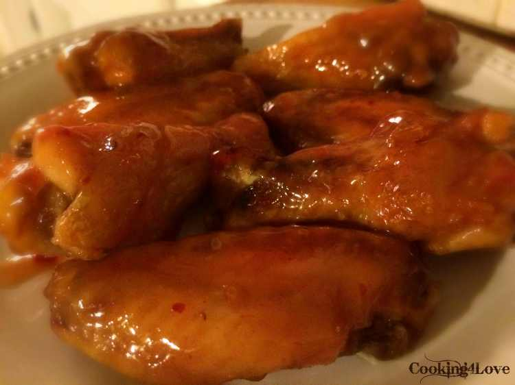 Boiled & Baked Chicken Wings
